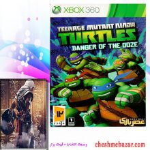 بازی TURTLES DANGER OF THE ZONEمخصوص XBOX360