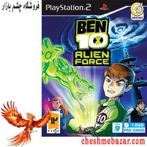 بازی BEN10 ALIEN FORCEمخصوص پلی استیشن2