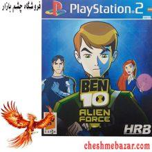 بازی BEN10 ALIEN FORCEمخصوص PS2 نشر HRB