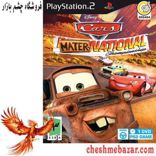 بازی CARS MATER-NATIONAL مخصوص پلی استیشن2