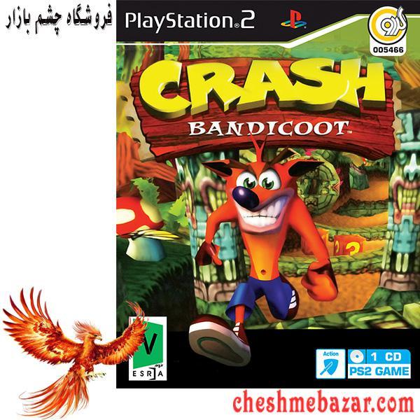 بازی CRASH BANDICOOT مخصوص پلی استیشن2