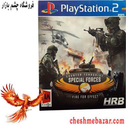 بازی Counter Terrorist Special Forces Fire For Effect مخصوص PS2