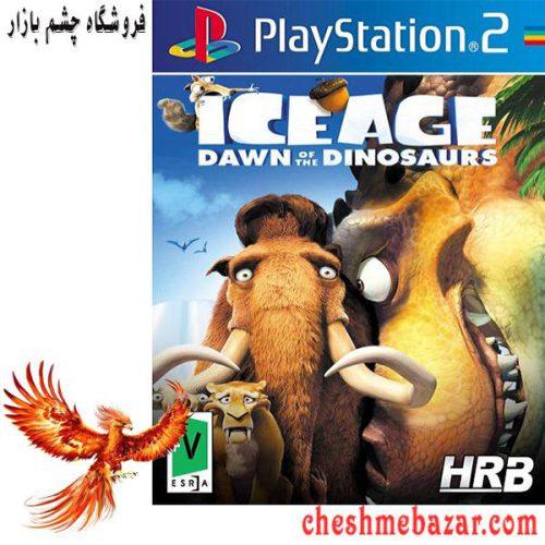 بازی Ice Age Dawn of the Dinosaurs مخصوص پلی استیشن2