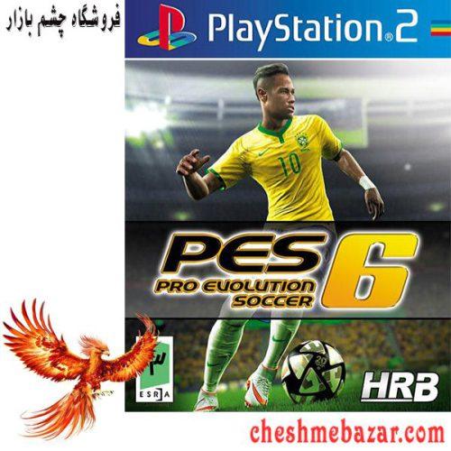 بازی Pro Evolution Soccer 6 مخصوص PS2