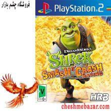 بازی Shrek Smash n' Crash Racing مخصوص PS2