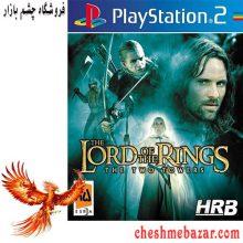 بازی The Lord of the Rings The Two Towers مخصوص PS2