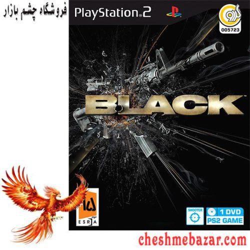 بازی BLACK مخصوص PS2 نشر گردو