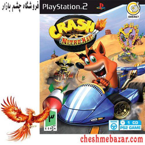 بازی CRASH nitro kart مخصوص PS2 نشر گردو
