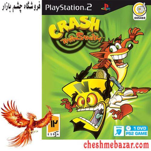 بازی CRASH twinsanith مخصوص ps2 نشر گردو