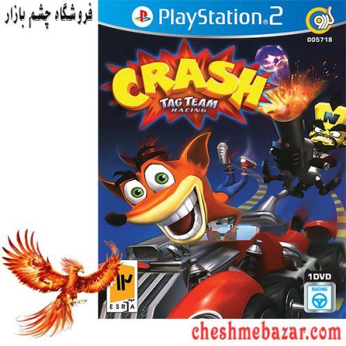 بازی CRASH TAG team racing مخصوص ps2