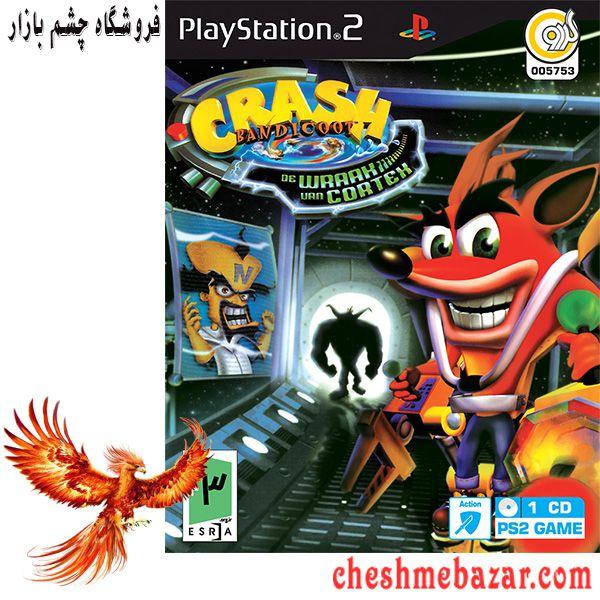 بازی Crash Bandicoot The Wrath of Cortex مخصوص PS2