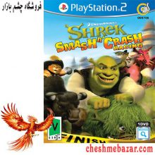 بازی Shrek Smash n Crash Racing مخصوص PS2