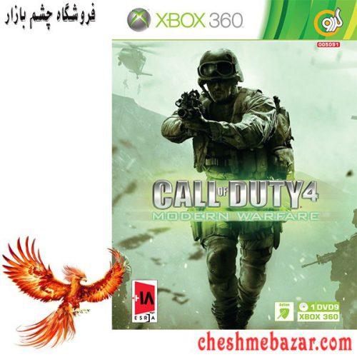 بازی Call of Duty 4 Modern Warfare مخصوص XBOX360 نشر گردو
