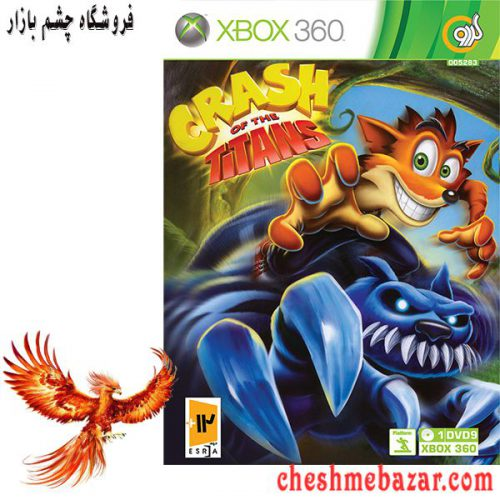 بازی Crash of the Titans مخصوص XBOX360 نشر گردو