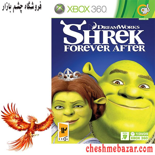 بازی DreamWorks Shrek Forever After مخصوص XBOX360 نشر گردو