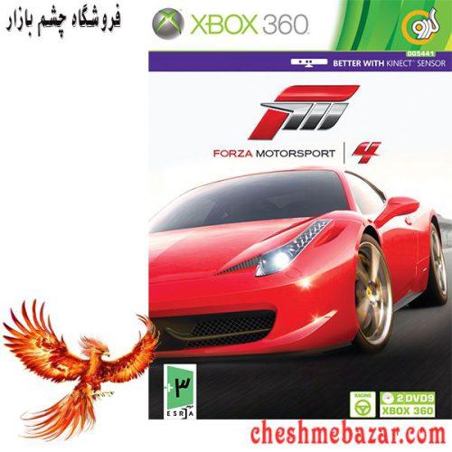 بازی Forza Motorsport 4 مخصوص XBOX360 نشر گردو