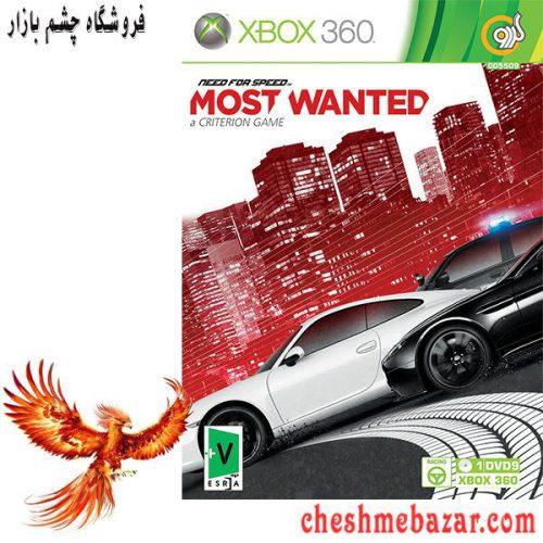 بازی NEED FOR SPEED MOST WANTED مخصوص XBOX360 نشر گردو