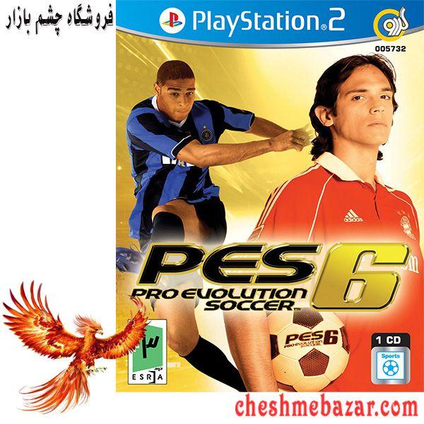 بازی PES 6 Pro Evolution Soccer مخصوص PS2 نشر گردو