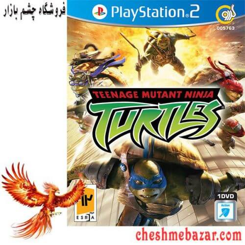 بازی Teenage Mutant Ninja Turtles مخصوص PS2 نشر گردو
