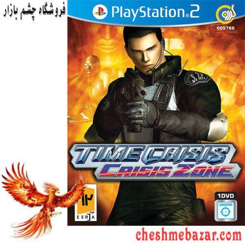 بازی Time Crisis Crisis Zone مخصوص PS2 نشر گردو