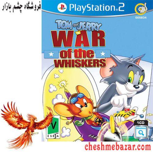بازی Tom and Jerry War of the Whiskers مخصوص PS2 نشر گردو