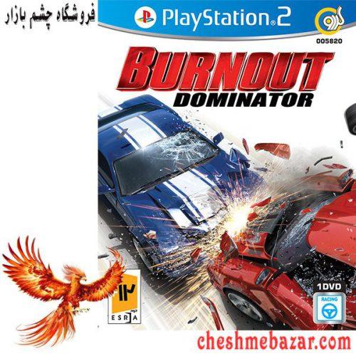 بازی Burnout Dominator مخصوص PS2 نشر گردو