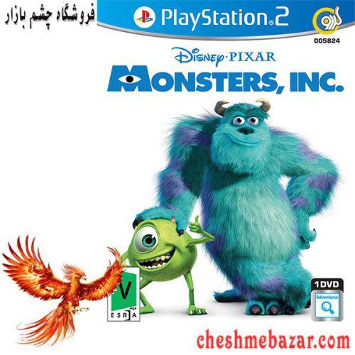 بازی Disney Pixar Monsters Inc مخصوص PS2 نشر گردو