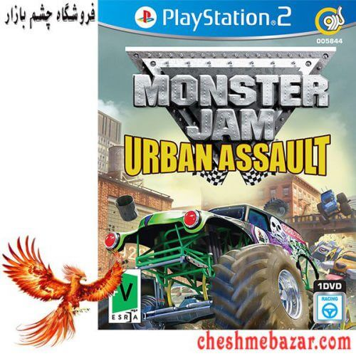 بازی Monster Jam Urban Assault مخصوص PS2 نشر گردو