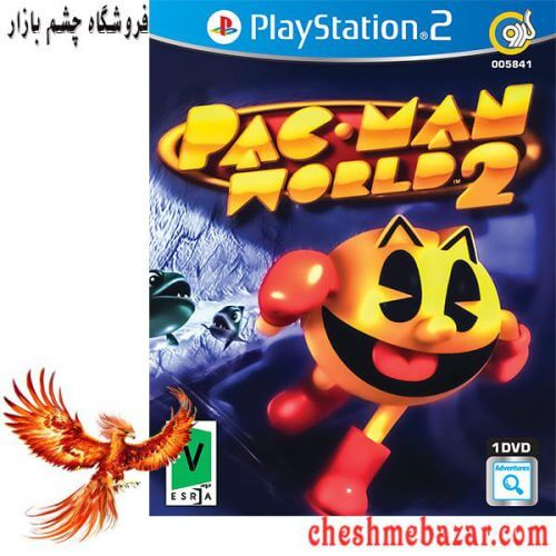 بازی Pac-Man World 2 مخصوص PS2 نشر گردو