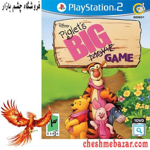 بازی Piglet s BIG Movie Game مخصوص PS2 نشر گردو