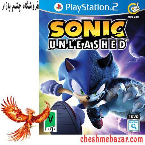بازی Sonic Unleashed مخصوص PS2 نشر گردو