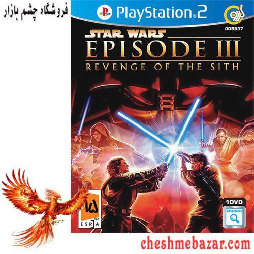بازی Star Wars Episode III Revenge of the Sith مخصوص PS2 نشر گردو