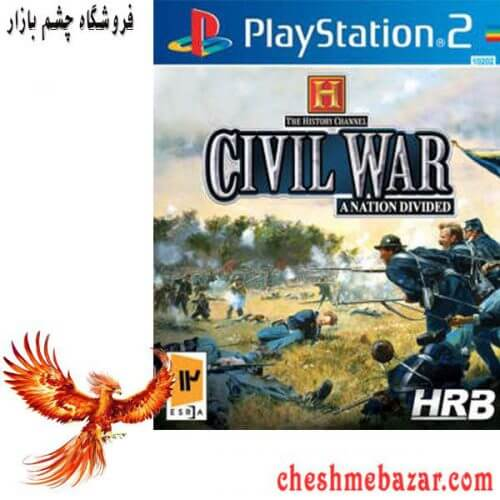 بازی The History Channel Civil War A nation Divided مخصوص PS2