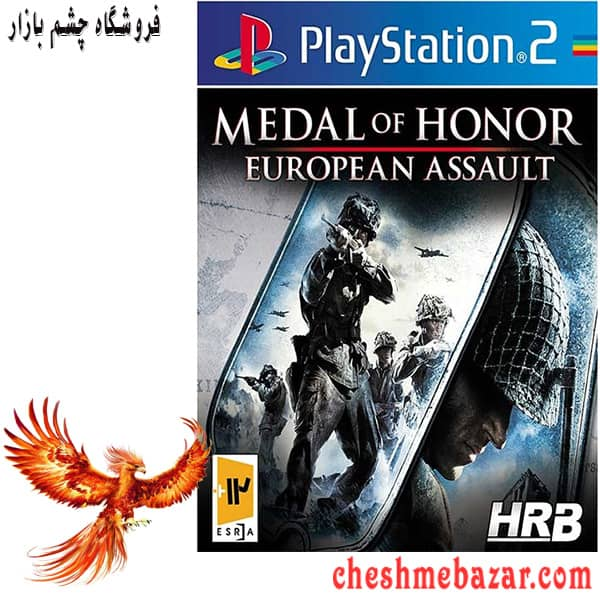 بازی MEDAL OF HONOR EUROPEAN ASSAULT مخصوص PS2