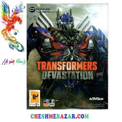 بازی TRANSFORMERS DEVASTATION مخصوص PC
