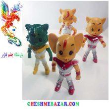 عروسک حیوانات جنگجو